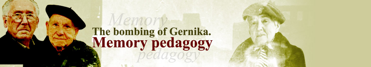 The bombing of Gernika. Memory pedagogy